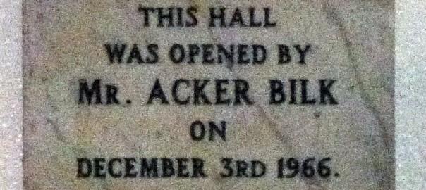 Acker Bilk Pensford