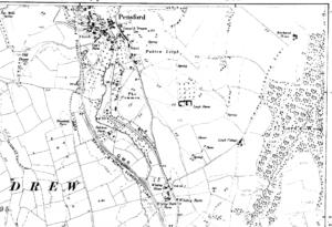 Ordnance Survey Map of Pensford circa 1900 (Click image to enlarge)